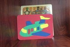 Собери пазлы - самолет
